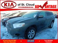 Options:  2008 Toyota Highlander Base|Awd Base 4Dr