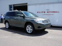 TOYOTA CERTIFIED HIGHLANDER HYBRID NEW TIRES LEATHER