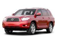 Options:  2008 Toyota Highlander Limited 4X4|Black/|V6