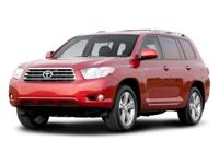 This outstanding example of a 2008 Toyota Highlander