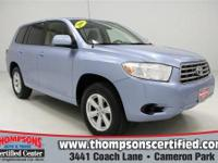 Smooth and Comfortable.... 2008 Toyota Highlander 4x4