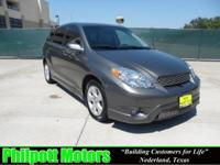 Options Included: N/A2008 Toyota Matrix, grey with