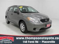 This 2008 Toyota Matrix is one of the most versatile