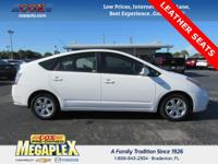This 2008 Toyota Prius in Super White is well equipped