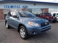 WOW!! A one owner 2008 Toyota RAV4 4X4 with only 17,000