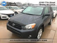 Recent Arrival! 4WD, Dark Charcoal Cloth. 2008 Toyota