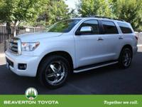 ONE OWNER!!! This tough 2008 Toyota Sequoia is not