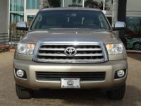 Options:  2008 Toyota Sequoia Ltd|Beige/Sand Beige|V8