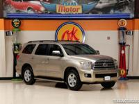 This 2008 Toyota Sequoia is in good shape with 143,710