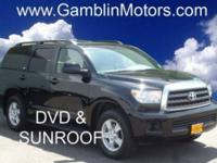 power SUNROOF, LEATHER interior, rear DVD ENTERTAINMENT