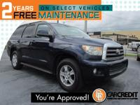 Options:  2008 Toyota Sequoia Sr5