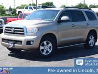 Safe and reliable, this 2008 Toyota Sequoia SR5