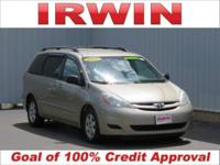 Beige 2008 Toyota Sienna LE FWD 5-Speed Automatic with