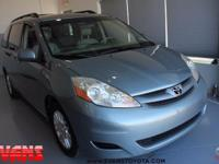 BLUE 2008 Toyota Sienna XLE FWD 5-Speed Automatic with