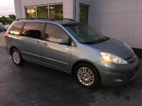 Bluetooth, Sienna XLE w/ Rear Entertainment, Moonroof,