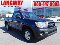 New Price! 2008 Toyota Tacoma CARFAX One-Owner. Awards: