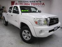 4WD! This great 2008 Toyota Tacoma is the Toyota pickup
