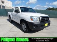 Options Included: N/A2008 Toyota Tacoma Regular Cab,