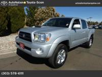 This 2008 Toyota Tacoma comes with a CARFAX Buyback