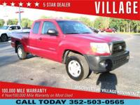 CARFAX One-Owner. Clean CARFAX. 2008 Toyota Tacoma 2.7L