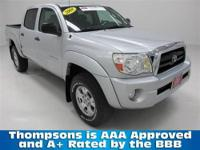 TOYOTA CERTIFIED!...........2008 Toyota Tacoma Double