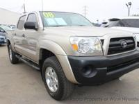 This 2008 Toyota Tacoma 2WD Dbl V6 Automatic PreRunner