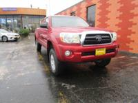 From city streets to back roads, this Red 2008 Toyota
