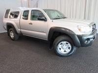 HARD TO FIND TACOMA AT THIS PRICE!! V6..4WD..MATHCING