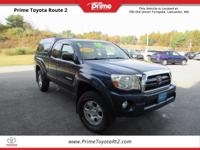 2008 Toyota Tacoma TRD OFF ROAD in Indigo Ink Pearl.
