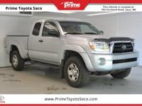 2008 Toyota Tacoma in Silver Streak Mica! With these