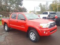 CARFAX One-Owner. Clean CARFAX. Red 2008 Toyota Tacoma