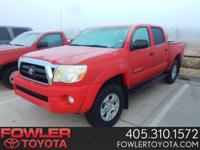 Double Cab Tacoma! 4x4! Automatic Transmission! Sport