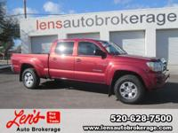 Options:  2008 Toyota Tacoma Carfax 1 Owner And A Hard