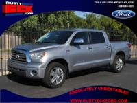 Our 2008 Toyota Tundra is a full-size pickup in every