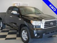 Options:  2008 Toyota Tundra Limited|Black|4D Double
