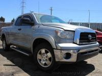 This 2008 Toyota Tundra Double Cab 4dr SR5 Pickup 4D 6