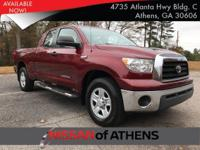Check out this 2008 Toyota Tundra 2WD Truck DB 2WD V8