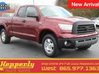 CARFAX One-Owner. This 2008 Toyota Tundra in Salsa Red