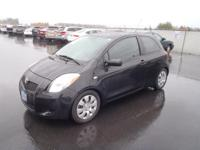 This BLACK 2008 Toyota Yaris Base might be just the