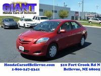 This 2008 Toyota Yaris Base is proudly offered by Honda