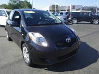 JUST TRADED IN! This 2008 Toyota Yaris is currently