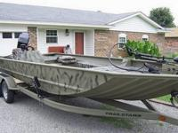 2008 Tracker Grizzly 2072 AWL Purchased this boat new