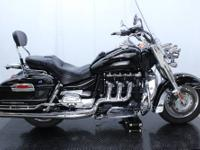 2008 Triumph Rocket III Touring Makes short work of the