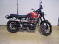 2008 Triumph Scrambler All the Popular Accessories