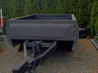 This is a 2008 Truck Bed Utility Trailer (originally