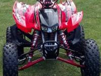 2008 TRX 450 ER. Bought new in 2010. Has low hours.