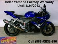 2008 Use Yamaha R-6 Sport Bike - For sale with all the