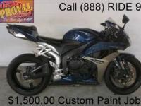 2008 Used Honda CBR1000RR Crotch Rocket For Sale-U1903