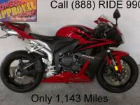 2008 Used Honda CBR600RR Crotch Rocket for sale with