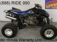 2008 used Honda TRX700XX ATV for sale - only $2,499!